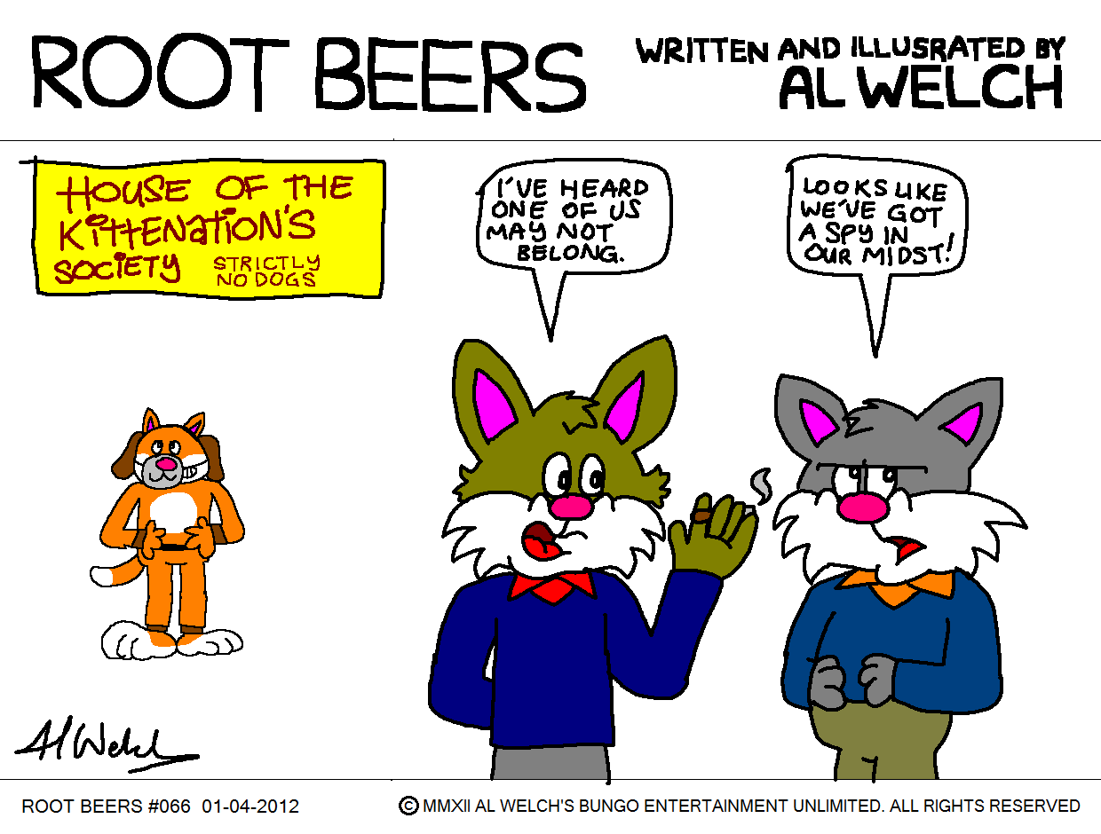 Root Beers 066 - Kitten Comic