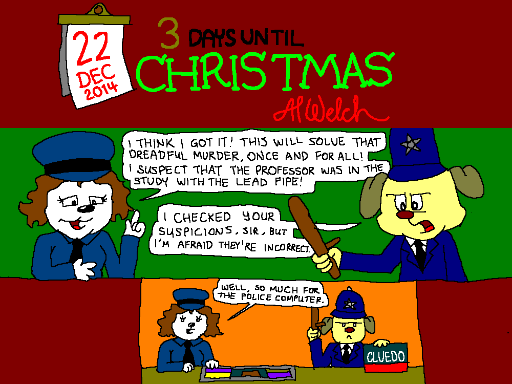 Advent 2014: Day 23: At the Police Station