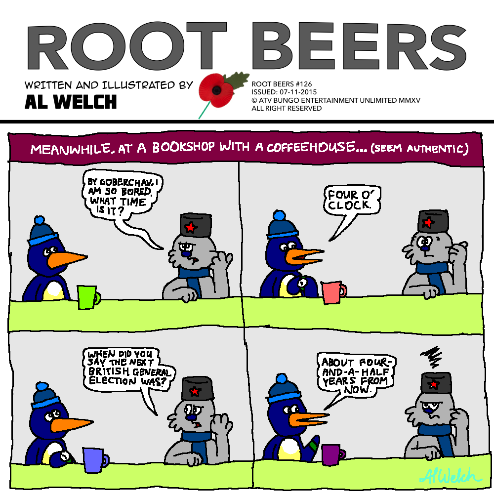 Root Beers #126: Not Quite Topical